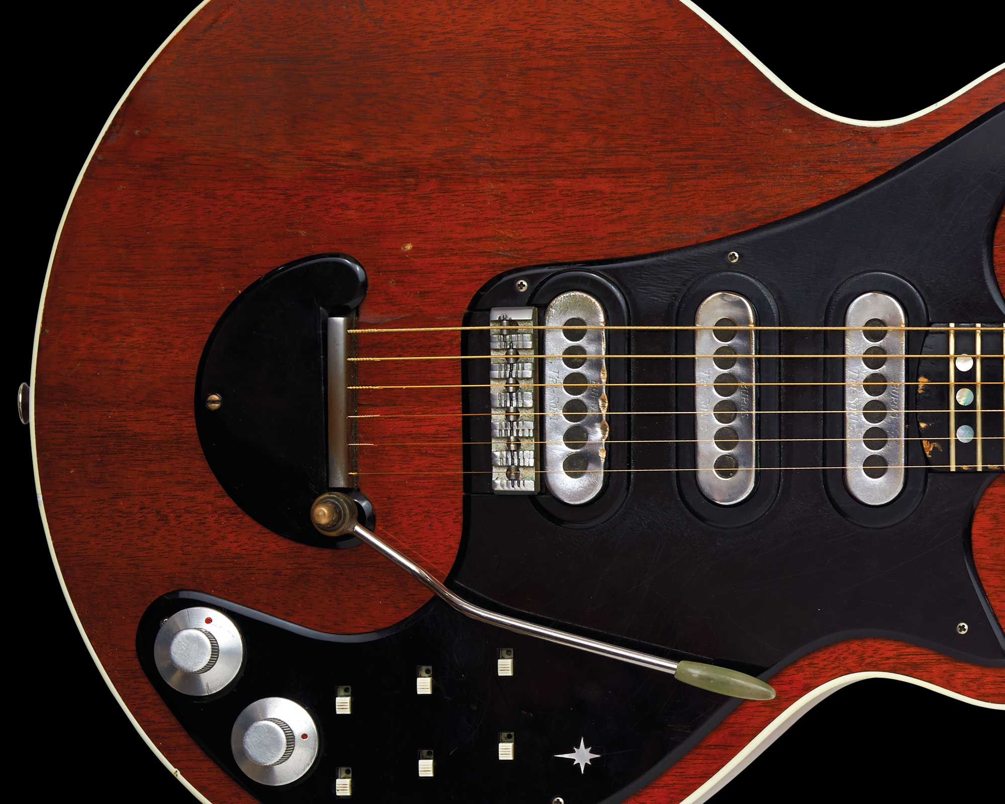 guitar nicknamed red special - HD1366×768